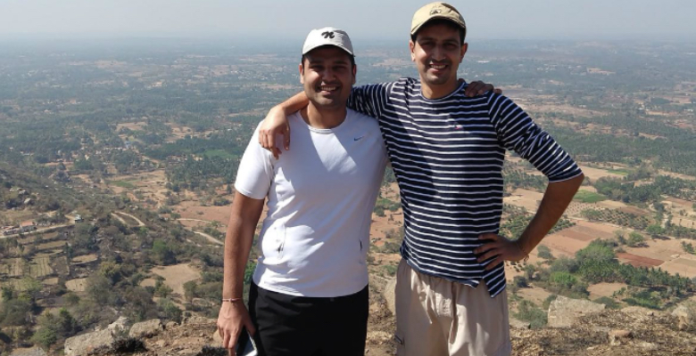 The Co-Founders of Vahan: Mohammad and Madhav Krishna