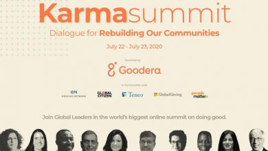 Photo of Goodera Presents Karma Summit 2020 – Rebuilding our Communities