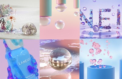 Laneige presents Luminous Beauty art videos through global SNS channels