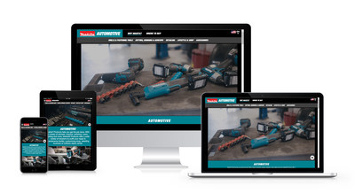 Makita's newly redesigned automotive website makes it easy find a range of automotive-related tools, including tools used from maintenance to detailing.