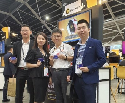 OCB Life team at Singapore Fintech Festival 2019