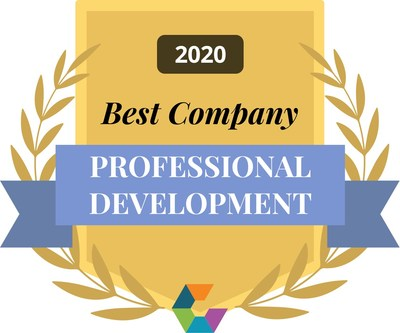 SmartBug Media is recognized as a Best Company for Professional Development by Comparably