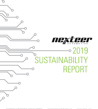 Photo of Nexteer Releases 2019 Sustainability Report