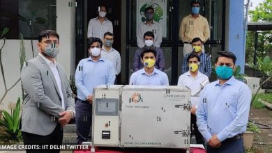 Photo of IIT Delhi startup launches Chakr DeCoV to decontaminate N95 masks for reuse
