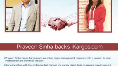 Photo of Serial Entrepreneur Praveen Sinha Backs Online Cargo Management Company iKargos.com