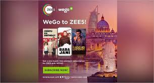 Photo of ZEE5 Global inks strategic partnership with WEGO